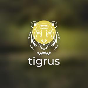 Tigrus – Vector tiger predator cat logo design free logo preview