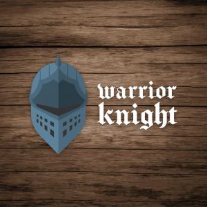 Warrior Knight – Medieval helmet logo vector free logo preview