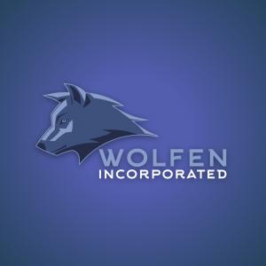Wolfen – Corporate mascot professional logo free logo preview