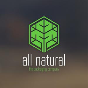All natural – Plant tree logo geometric design free logo preview
