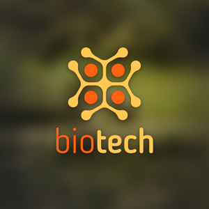 Biotech – Abstract cell free logo download free logo preview