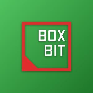 Box Bit – Free geometric logo vector download free logo preview