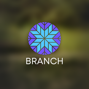 Branch – Abstract shape free logo vector free logo preview