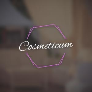 Cosmeticum – Elegant minimal cosmetics logo free logo preview