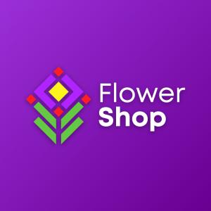 Flower Shop – Minimal nature logo design vector free logo preview