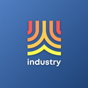 Industry – Colorful geometric free logo vector free logo preview