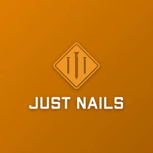 Just Nails – Road sign logo design vector free logo preview