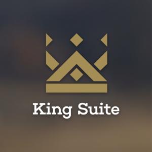 King Suite – Royal crown logo design vector free logo preview