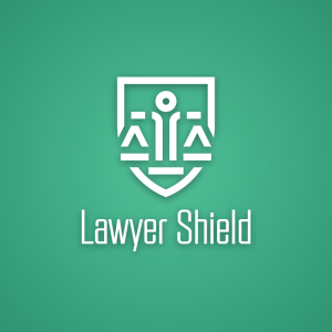 Lawyer Shield – Legal scale balance logo vector free logo preview