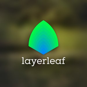 Layerleaf – Abstract color step logo vector free logo preview