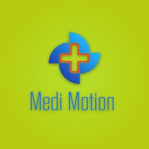 Medimotion – Medical hospital logo vector free logo preview