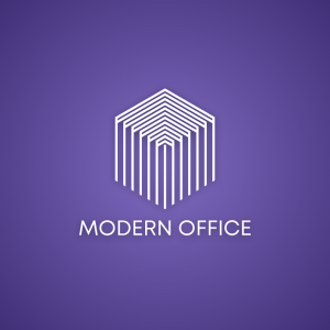 Modern Office – Business geometric logo vector free logo preview