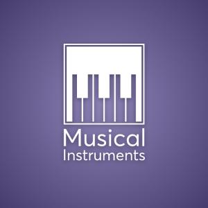 Musical – Piano key geometric free logo vector free logo preview