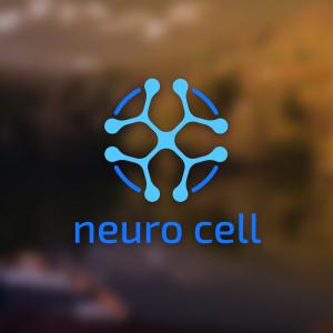 Neuro cell – Technological logo design vector free logo preview