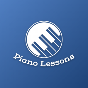 Piano Lessons – Musical education logo vector free logo preview
