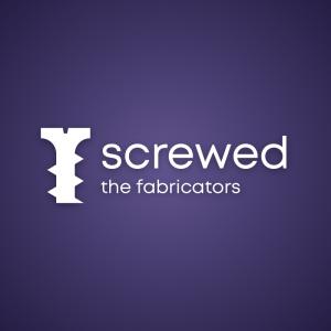 Screwed – Construction screw company logo free logo preview
