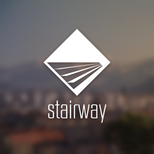 Stairway – Stair sign free logo vector download free logo preview