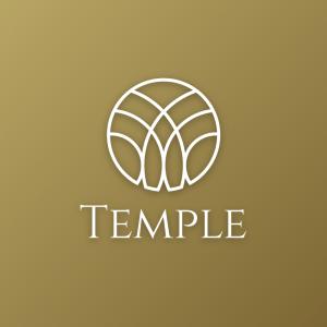 Temple – Modern religious logo vector minimal free logo preview