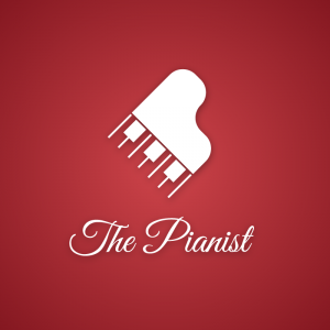 The Pianist – Music piano instrument free logo free logo preview