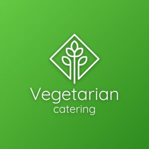 Vegetarian – Modern nature plant restaurant logo free logo preview