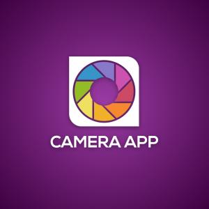Camera App – Aperture photography logo design free logo preview