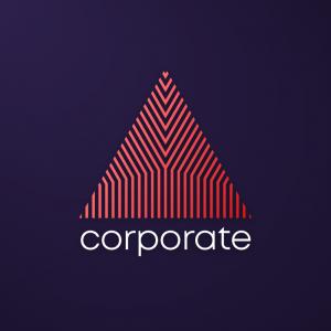 Corporate – Elegant geometric free logo design free logo preview