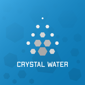 Crystal Water – Geometric hex free logo vector free logo preview