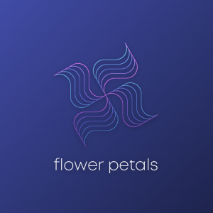 Flower Petals – Abstract geometric free logo free logo preview