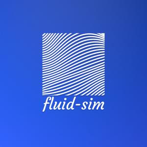 Fluid-sim – Liquid lines logo design vector free logo preview