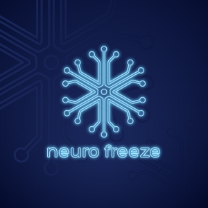Neurofreeze – Electric circuit snow flake logo free logo preview