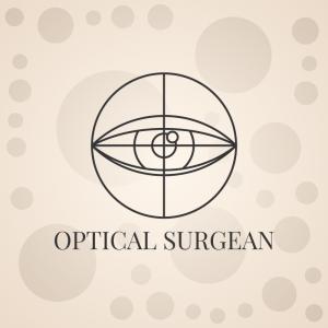 Optical Surgeon – Eye outline logo vector design free logo preview