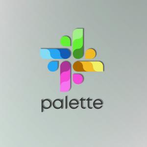 Palette – Color scheme logo vector download free logo preview
