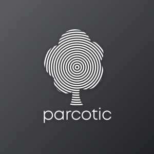 Parcotic – Concentric tree logo vector download free logo preview