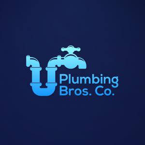 Plumbing Bros Co – Tap pipe logo design vector free logo preview