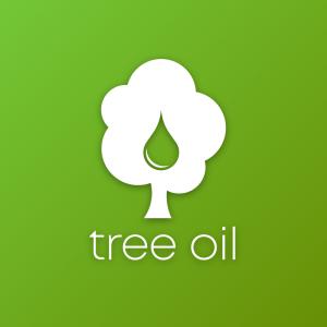 Tree Oil – Green tree drop free minimal logo free logo preview
