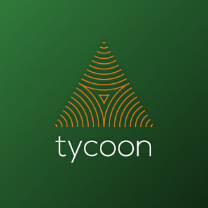 Tycoon – Abstract triangle logo design vector free logo preview