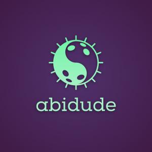 Abidude – Dudeist logo vector bowling ball free logo preview