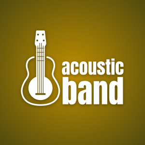 Acoustic band – Music instrument free logo free logo preview
