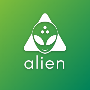 Alien – Extraterrestrial professional logo vector free logo preview