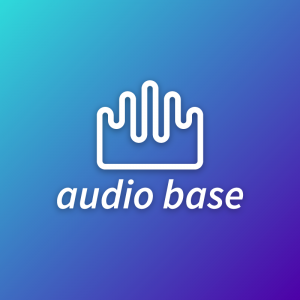 Audio base – Abstract sound logo download free logo preview