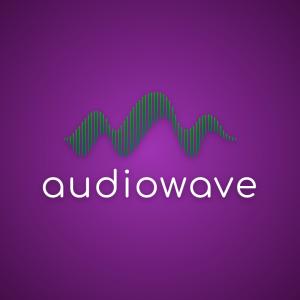 Audiowave – Music sound logo design download free logo preview