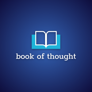 Book of thought – Education library logo vector free logo preview