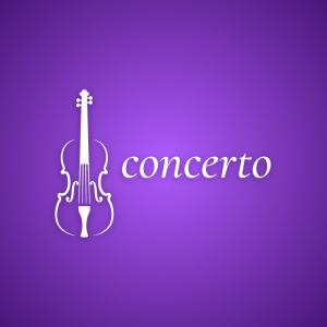 Concerto – Violin instrument logo design free logo preview