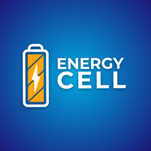 Energy cell – Battery charge logo download free logo preview