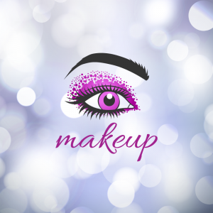 Makeup – Eye woman logo design free logo preview