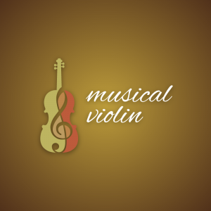 Musical Violin – Symphony logo orchestra vector free logo preview