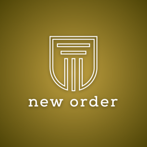 New Order – Minimalist column logo vector free logo preview