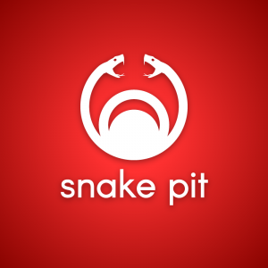 Snake pit – Vicious serpent logo download free logo preview