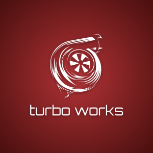 Turbo Works – forced induction logo vector free logo preview