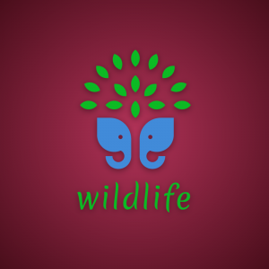 Wildlife – Nature elephant logo vector free logo preview